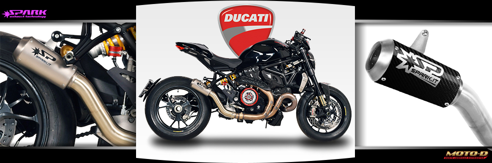 Spark Exhausts for Your Ducati Monster