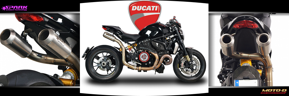 Dual Exhausts for your Ducati from Spark Exhaus Systems