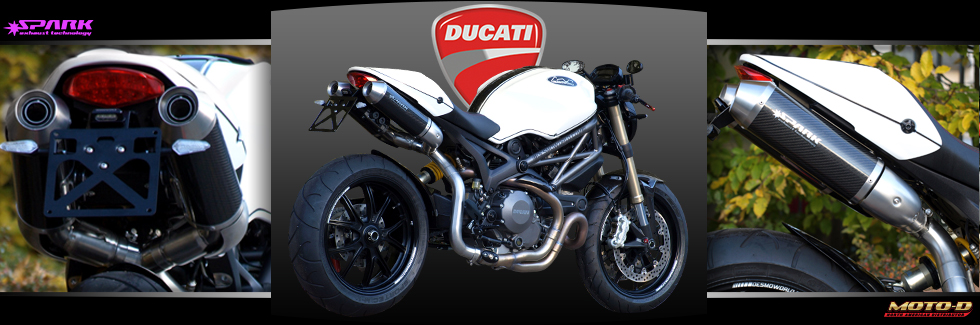 Spark Exhausts for your ducati