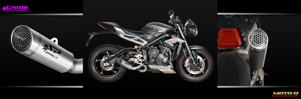Full Carbon Titanium exhaust system from Spark
