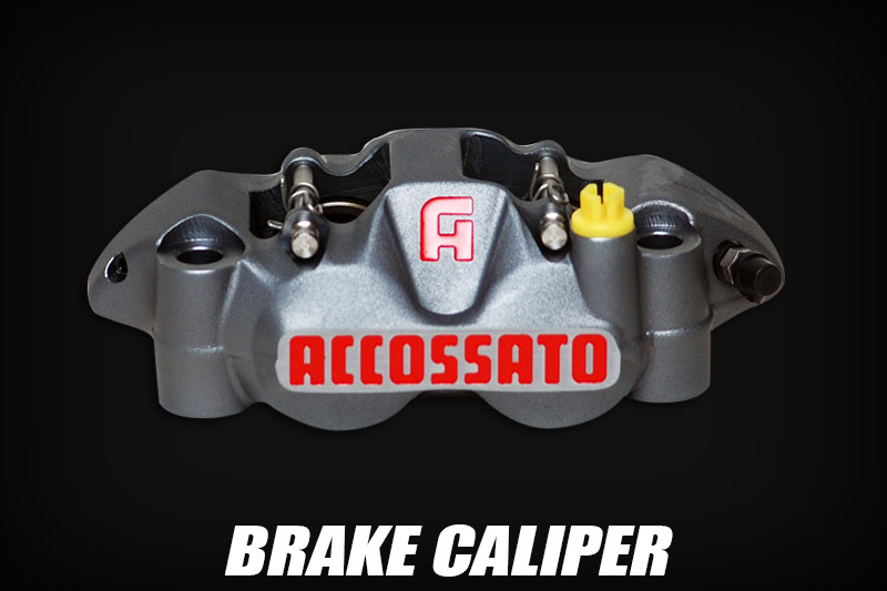 Accossato Brake Calipers are top rated
