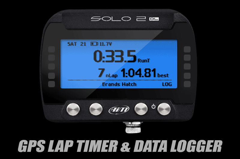 AiM Solo 2 DL GPS Lap Timer and Data Logger