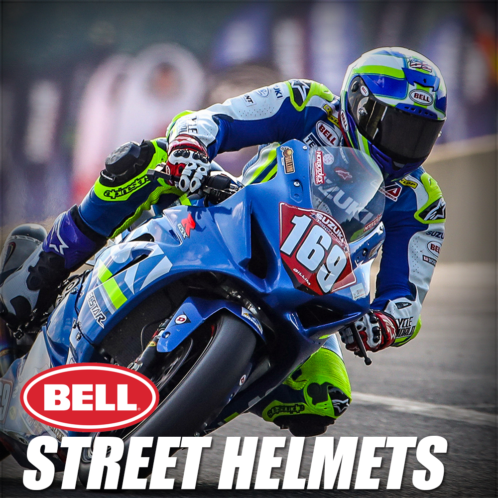 Bell Street Helmets apparel Button at MOTO-D