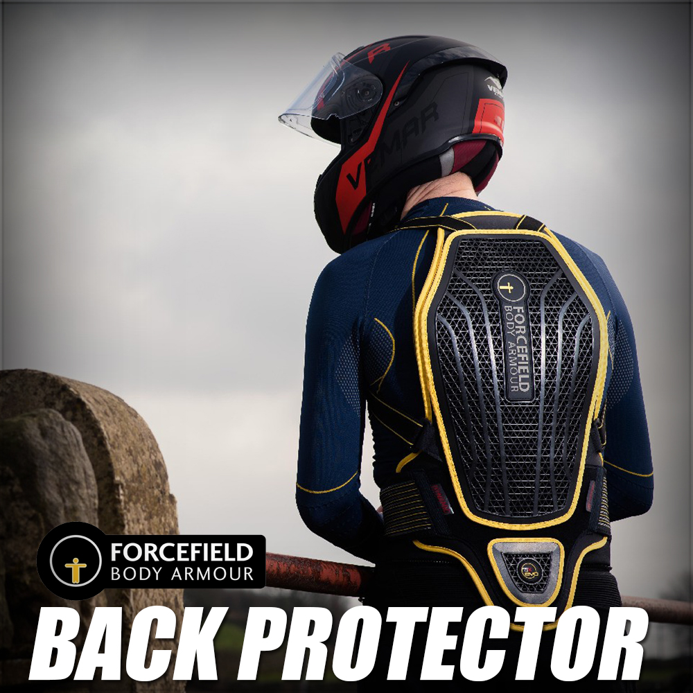 forcefield back protector apparel button