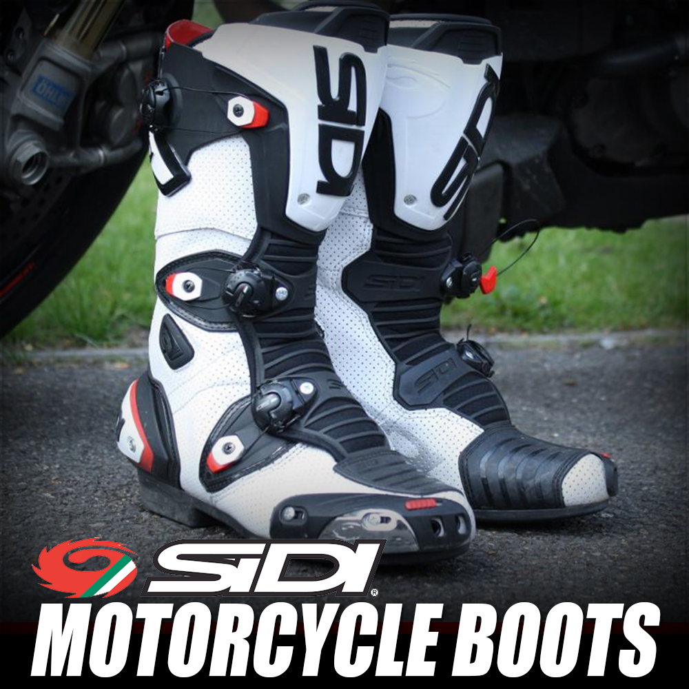 sidi motorcycle boots apparel button