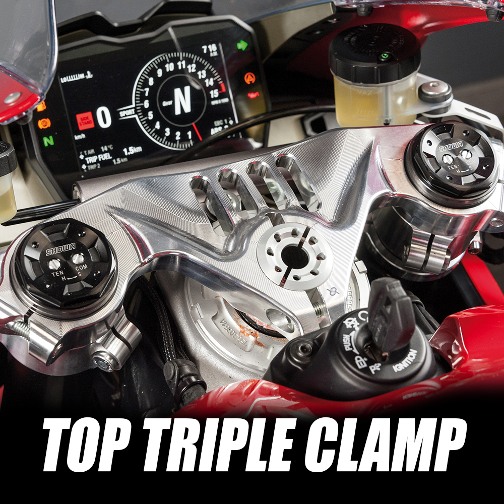 bonamici top triple clams offer a more race feel while looking a lot better