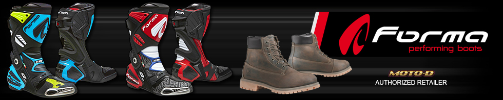 forma high quality sportbike boots banner