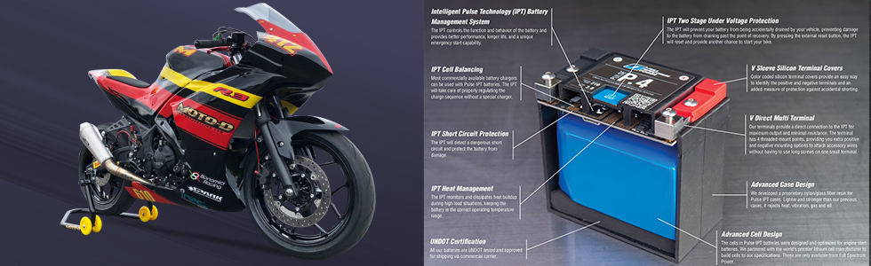 full spectrum power pulse motorcycle battery