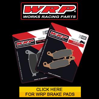 WRP Motorcycle brake pads