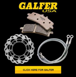 Galfer brak rotors, Brake lines, and Brake Pads on sale at MOTO-D