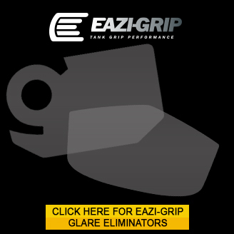 Eazi-Grip Glare eliminating screen protectors for sportbikes
