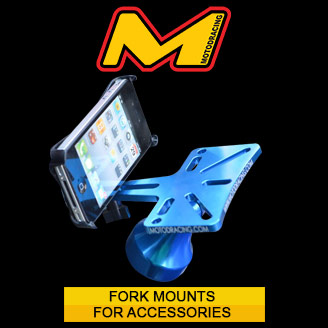 mounting brackets for phones, iphones, gopros & accessories sold at MOTO-D