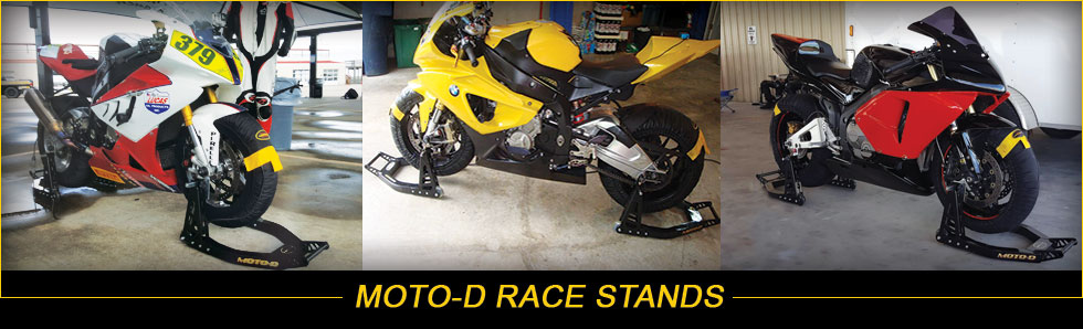 MOTO-D Black Motorcycle Stands