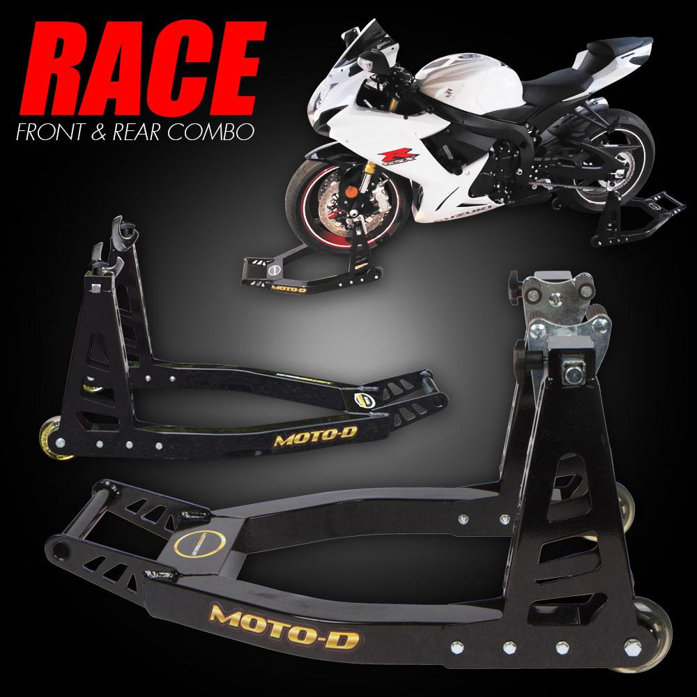 MOTO-D Lightweight Motorcycle Stands