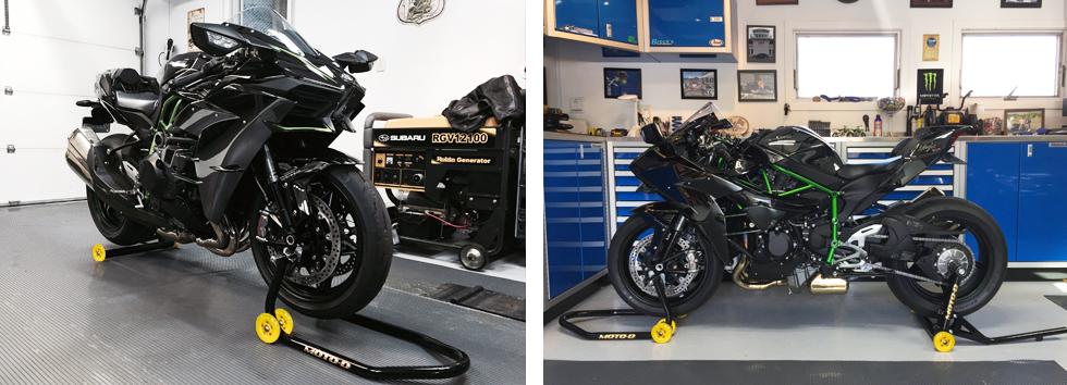 Easily One Of the Sexiest Motorcycle Stands On The Market