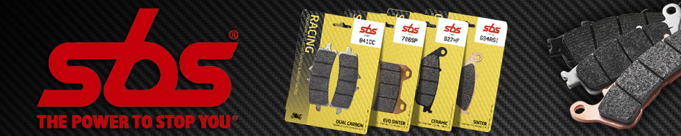 SBS brake pads for sportbike motorcycles at moto-d racing