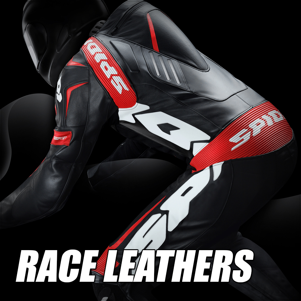 Spidi Race Leather Suits at MOTO-D Racing