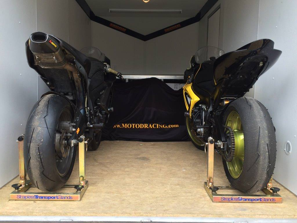 Moto D Strapless Transport Stands Motorcycle Trailer