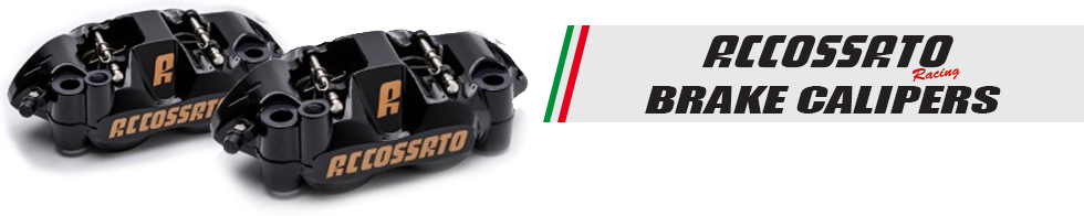 accossato front brake calipers for sportbikes available at MOTO-D Racing