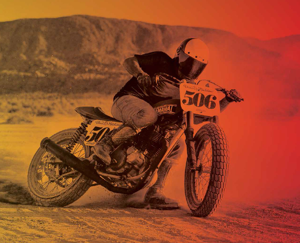 bell culture bullitt helmet on the road at moto-d racing