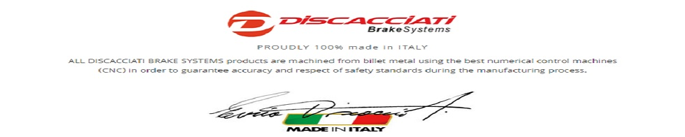 Discacciati Brake Systems North America Distributor