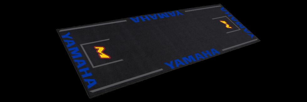 motorcycle paddock track mat for yamaha bikes