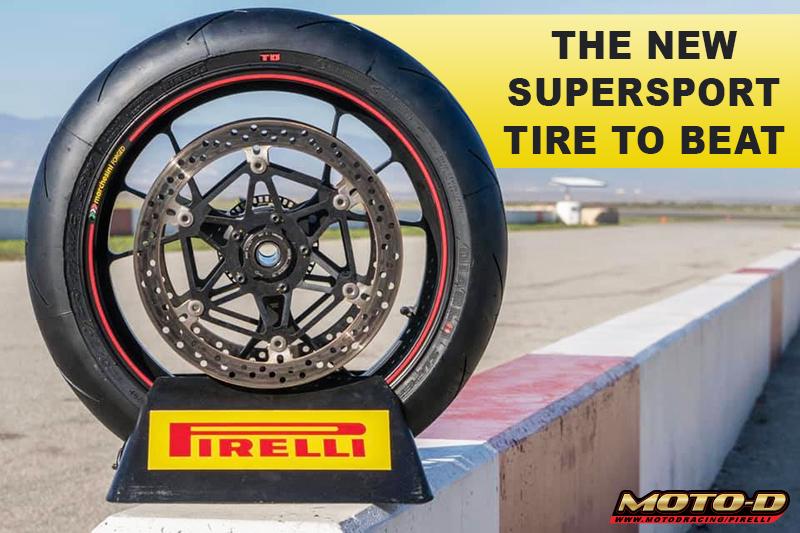 Pirelli track side tires moto-d