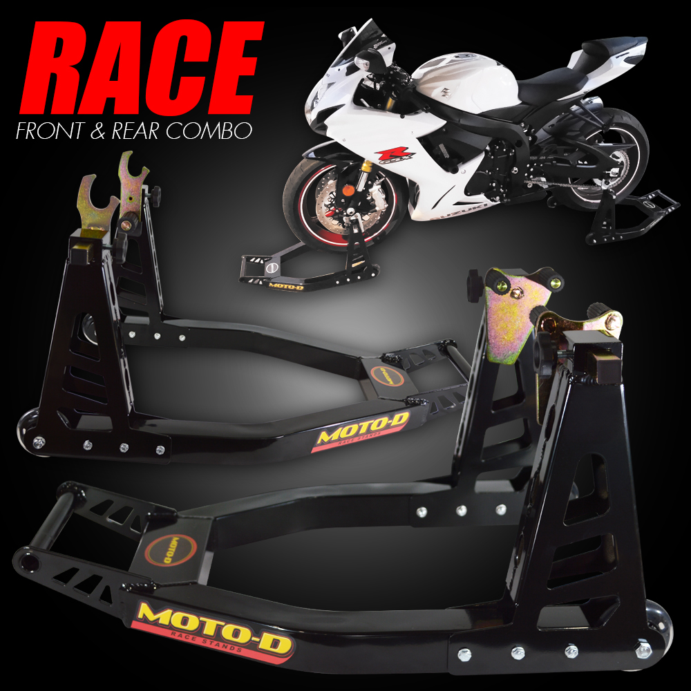 MOTO-D Lightweight Motorcycle Stands