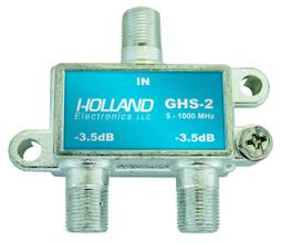 Holland Electronics GHS-2 2 way splitter