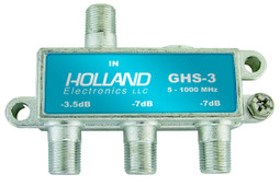 Holland Electronics GHS-3 3 way splitter