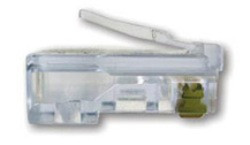Platinum Tools-100003C EZ-RJ45 CAT 5/5E Connector - Platinum Tools-100003C EZ