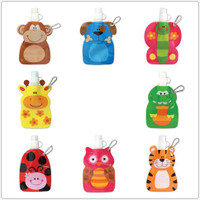 "Kids Water Bottles ""Little Zoo"" - 2 pack"