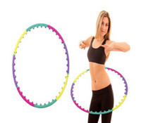 Hoop With Magnetic Massage Beads - Lose Stubborn Belly Fat The Fun Way