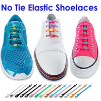 NO TIE Silicon Lazy Shoelaces - 12 pack