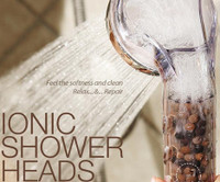 Citrus Aroma Shower Head Deeply Cleanses + Improves Skin & Hair Texture