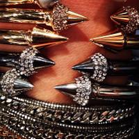 Designer Style Crystal Arrow Bracelet