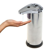 Sensor Stainless Steel Soap/ Dish/Sanitizer/Lotion/Shampoo Dispenser