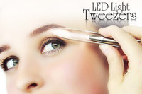 Professional Stainless Steel Lighted  Tweezers