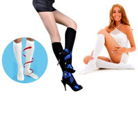Travel Compression Socks  - Black or White