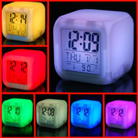 LED Color Cube Alarm Clock