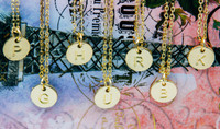 Perfect Gold/Silver Initial Necklace