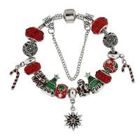 Christmas Charm Bracelet Snowflake