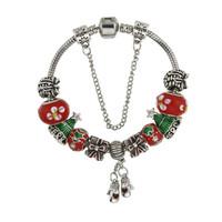 Christmas Charm Bracelet Mittens