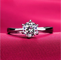 Elegant CZ  Engagement Ring