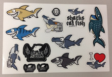 DECAL SHEET WITH CHARLIE AND FRIENDS