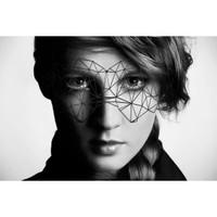 Bijoux Indiscrets Decal Eyemask - Kristine
