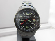 Torgoen Swiss Men's T05208 T05 Series Classic Black Aviation Watch