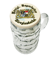 Royal Bavarian Wooden Beer Mug Cover
