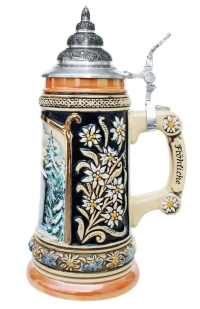 Silent Night Collectible German Xmas Beer Stein