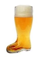 Personalized Custom 0.5 L Boot Beer Glass Mug